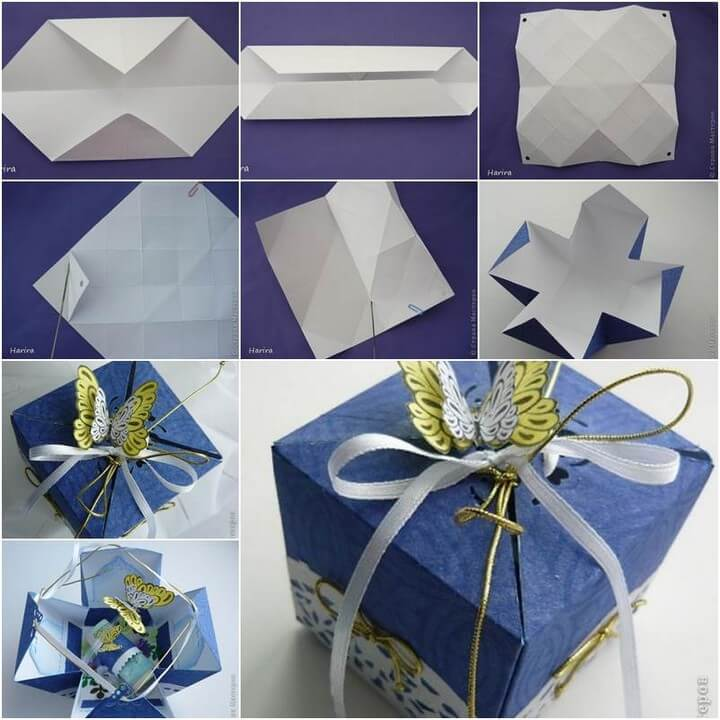 DIY Pretty Origami Gift Box, diy birthday gifts for tween girl, diy gifts, diy gifts for girlfriend, diy birthday gift ideas for teenage girl, creative homemade gifts, handmade birthday gifts, handmade gift ideas for friends, crafty gifts for girls, beautiful diy gifts, easy diy gifts for friends, diy gift ideas for best friend, quick diy gifts, diy gift ideas for boyfriend, diy gift ideas for girlfriend, diy gifts for men, classy diy gifts, diytomake.com