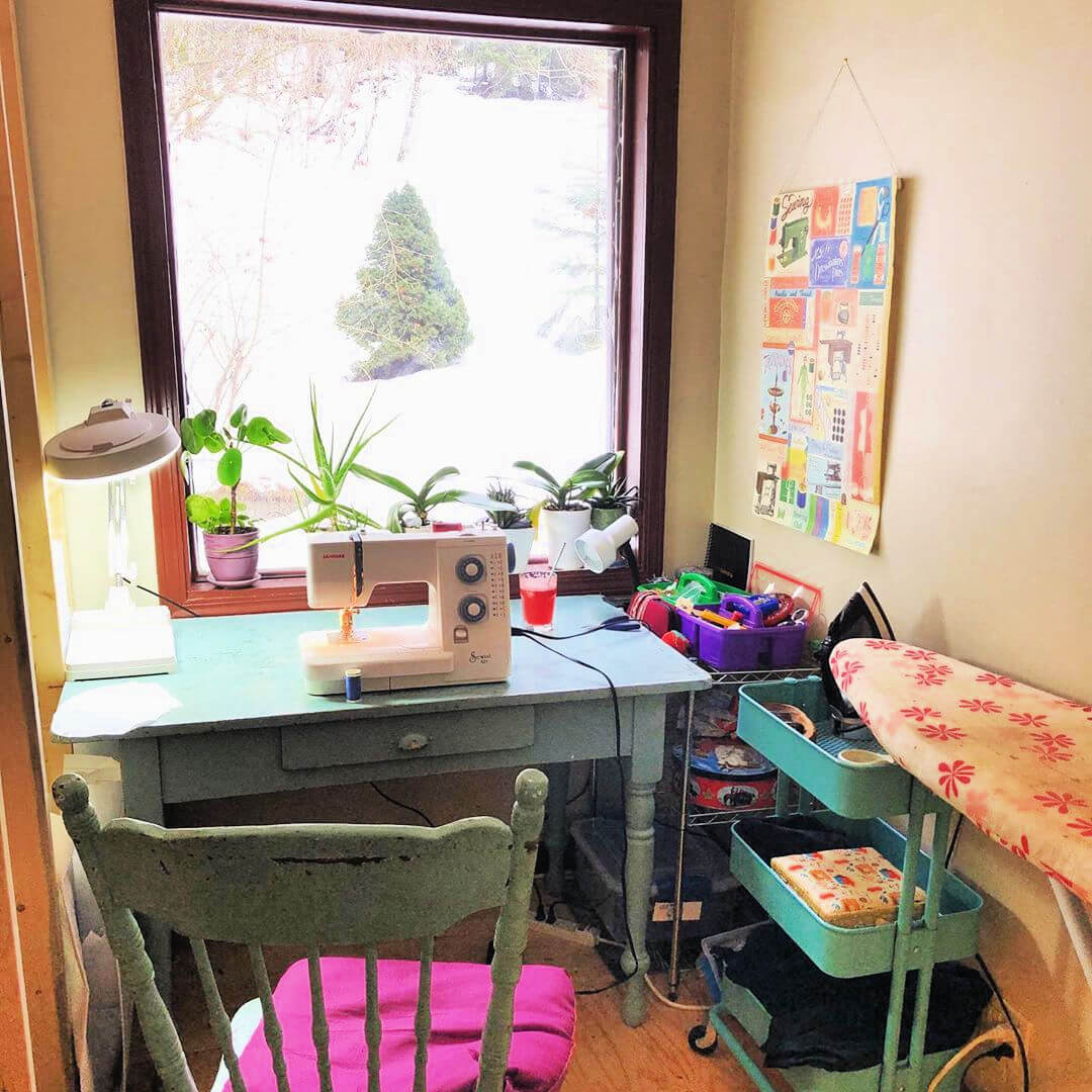 8 Tips and Tricks on How to Organize Your Sewing Room