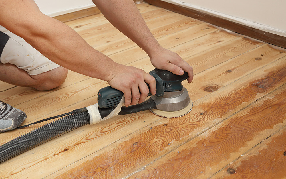 Sand And Refinish Your Hardwood Floors