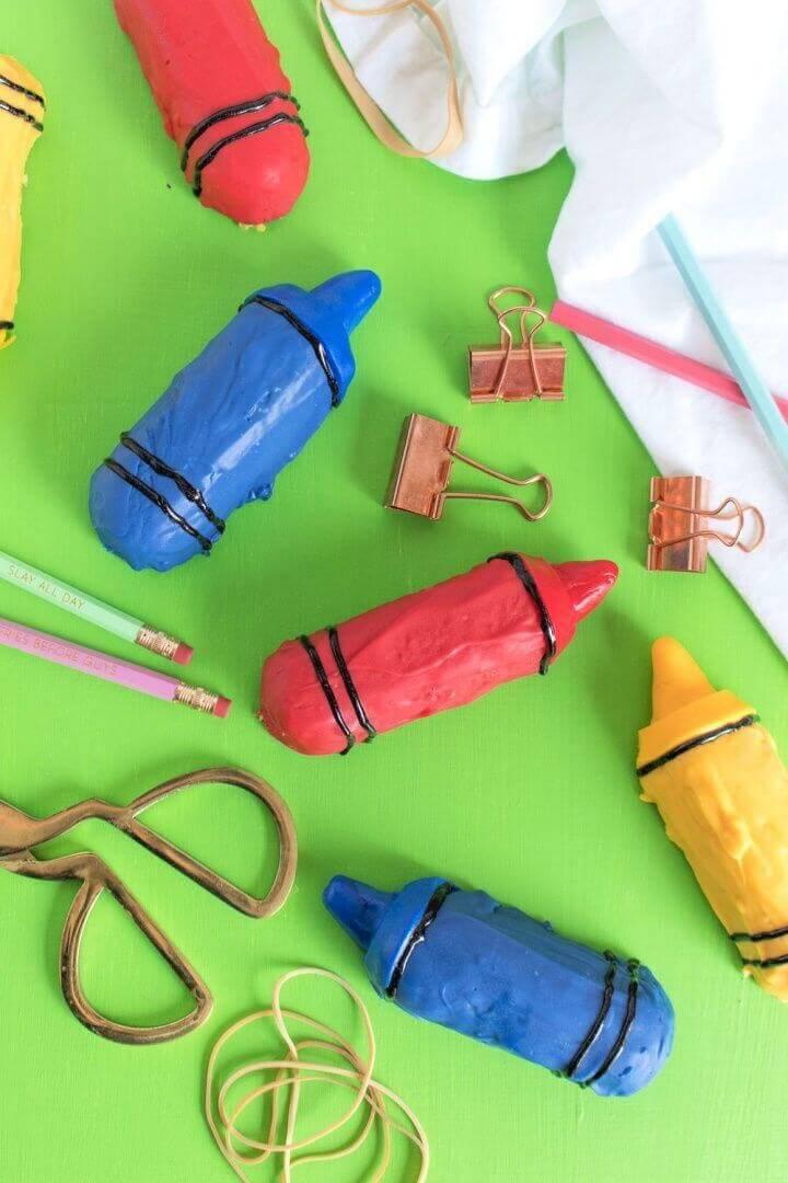 DIY Crayon Twinkies