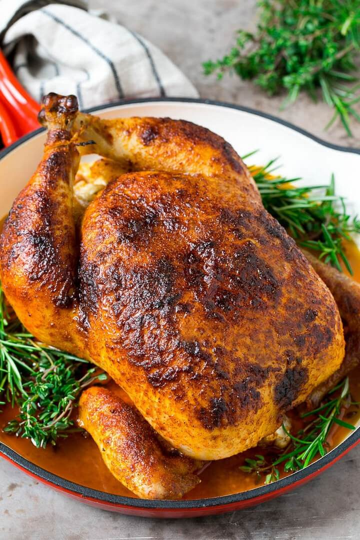 10 Best Roast Chicken Recipes In Oven Diy To Make