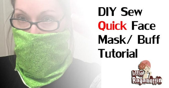 DIY Sew Quick Face Mask