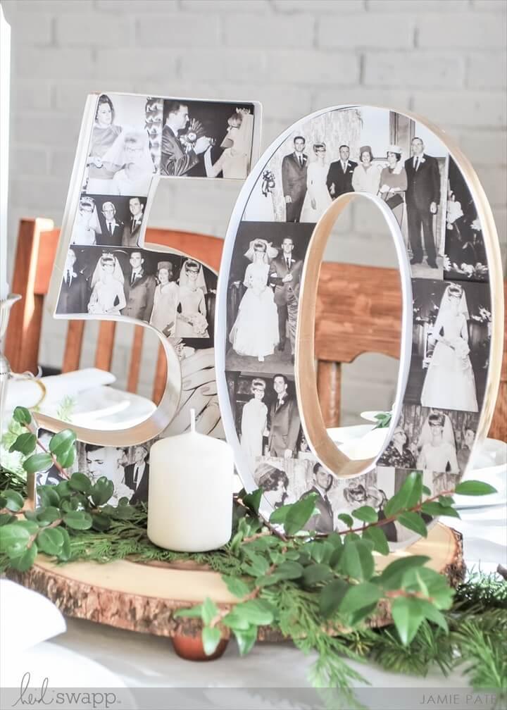 50th Anniversary Marquee Love