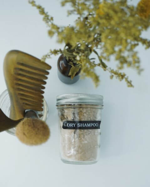 DIY Dry Shampoo 1