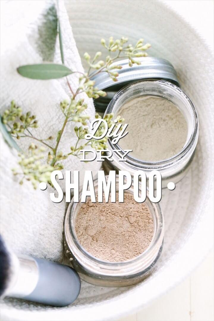 DIY Dry Shampoo For Dark And Light Hair Colors