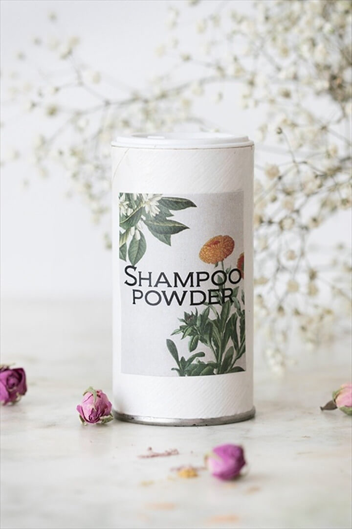 DIY Dry Shampoo Recipes with Arrowroot Powder