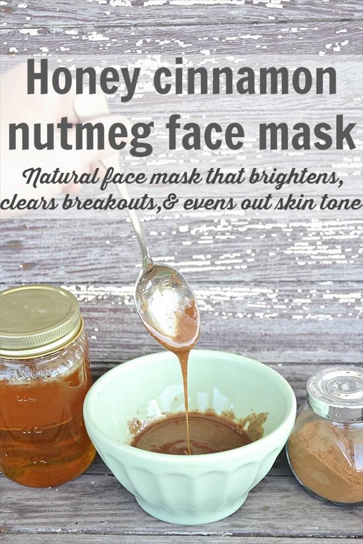DIY Honey Cinnamon Nutmeg Face Mask