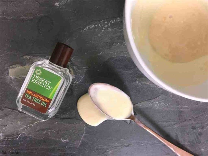 DIY Tea Tree Face Mask for Acne