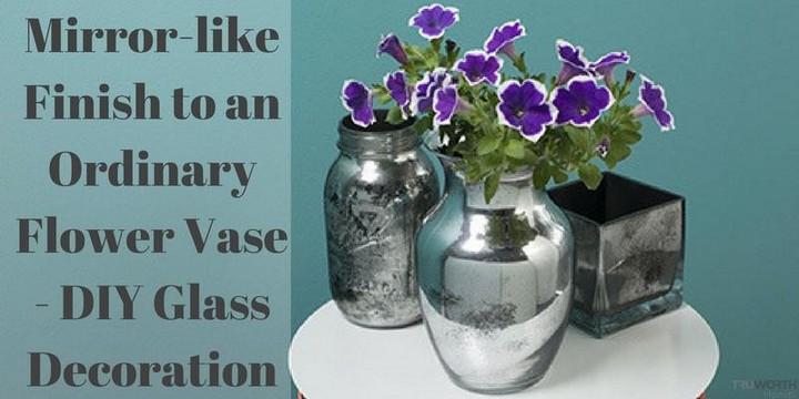 DIY Watercolor Vase Tutoeial