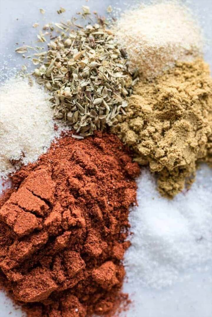 Easy Homemade Taco Seasoning DIY