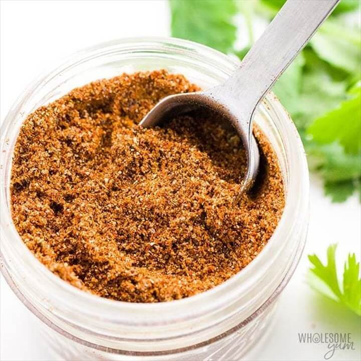 Gluten Free Keto Low Carb Taco Seasoning Recipe