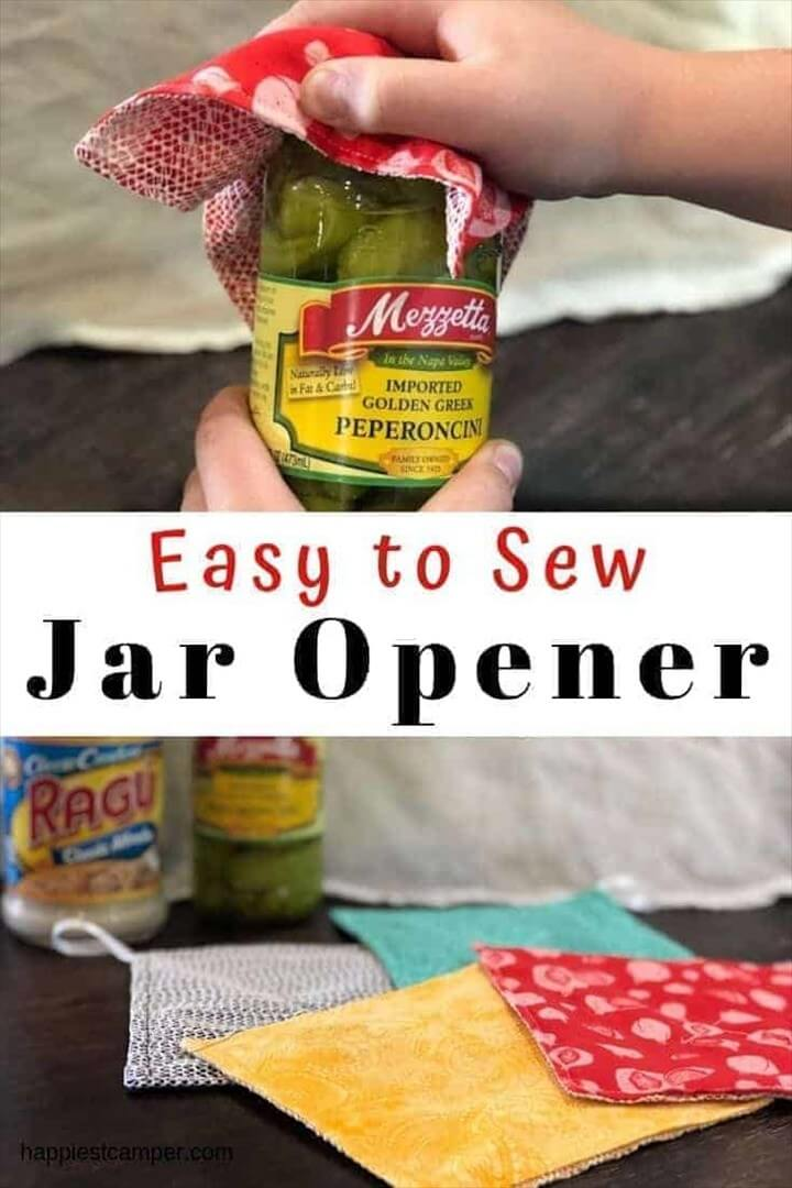 Jar Opener Easy Sewing Project