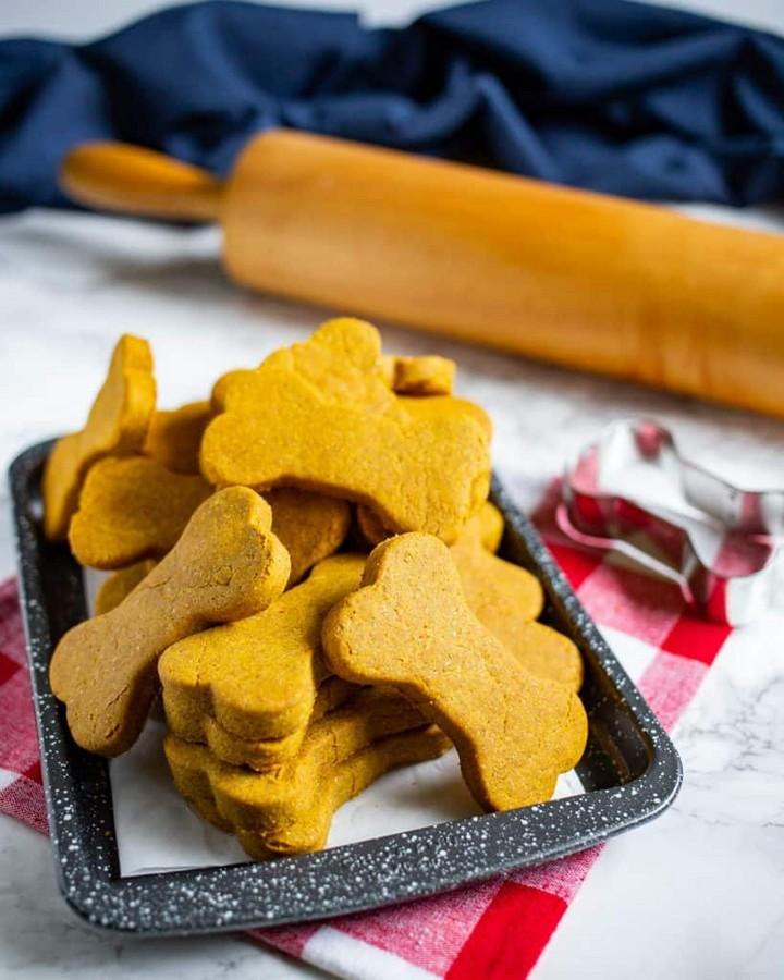 Pumpkin Peanut Butter Dog Treats 2