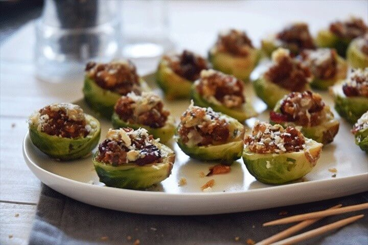 Sausage Stuffing Stuffed Brussels Sprouts