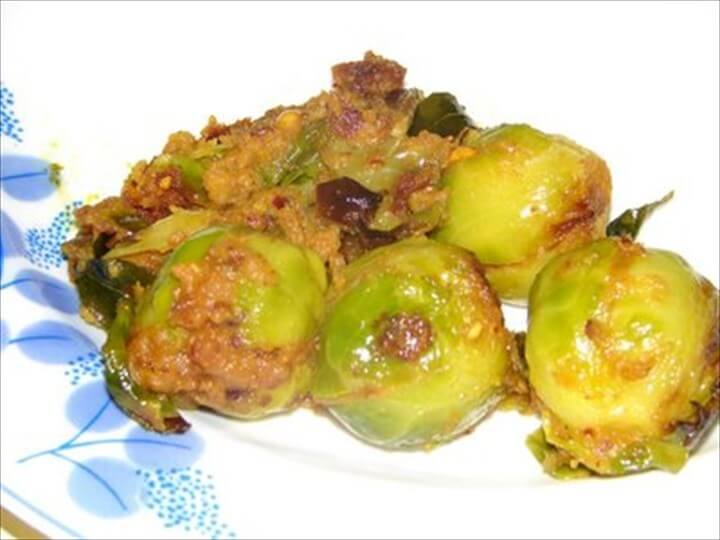 Stuffed Brussel Sprouts Curry