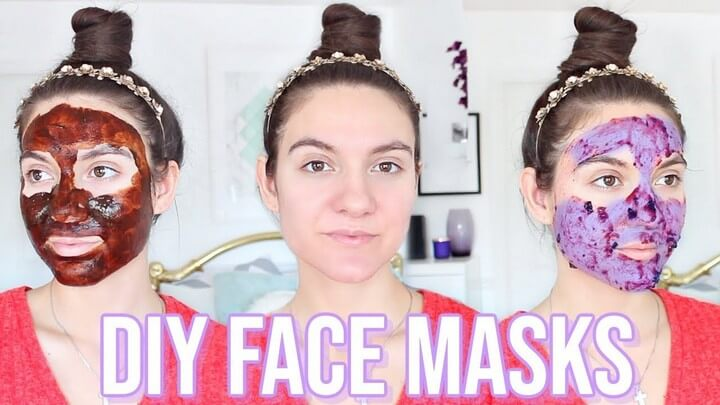 4 DIY Face Masks For GLOWING SKIN ACNE SCARS