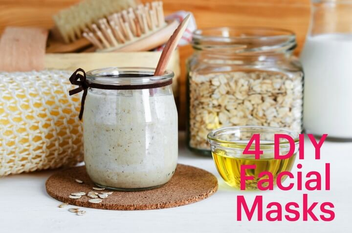 4 DIY Skin Changing Facial Masks