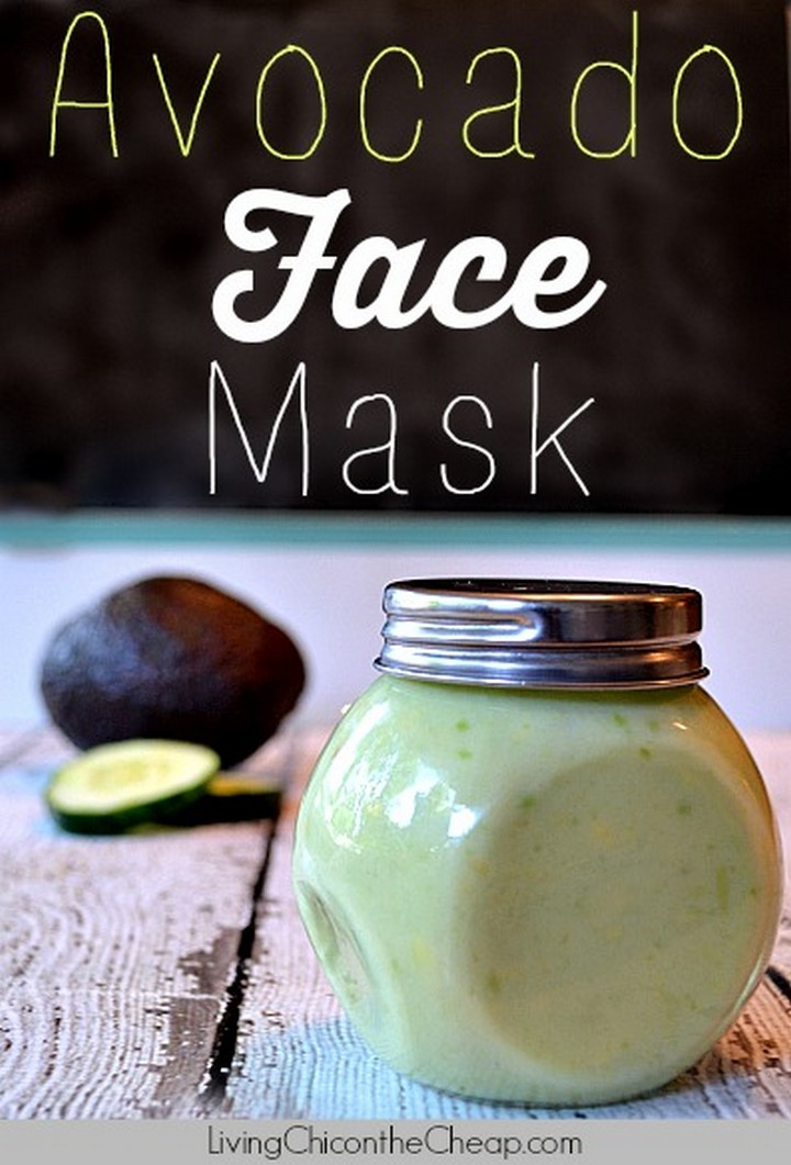AmazingDIY Avocado Face Mask