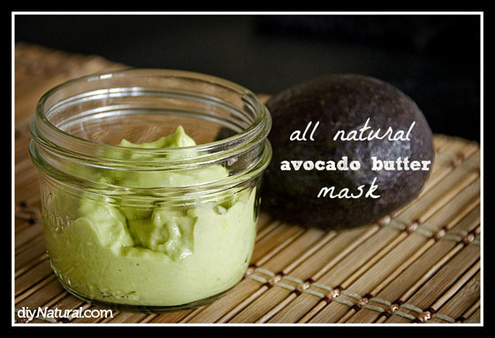 Avocado Face Mask DIY 1