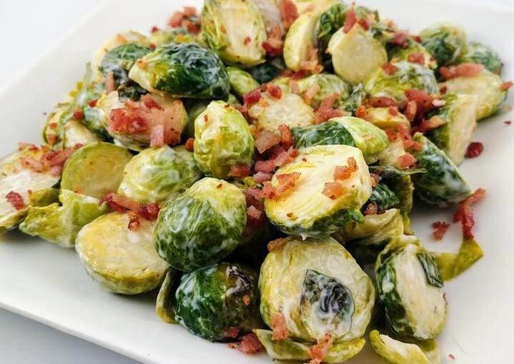Bacon Ranch Brussels Sprouts Recipe