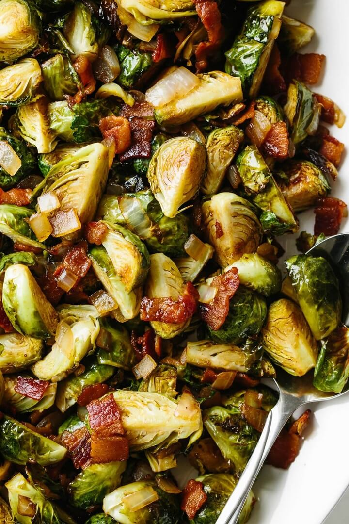 Balsamic Bacon Brussels Sprouts 1