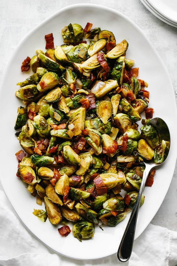 Balsamic Bacon Brussels Sprouts 2