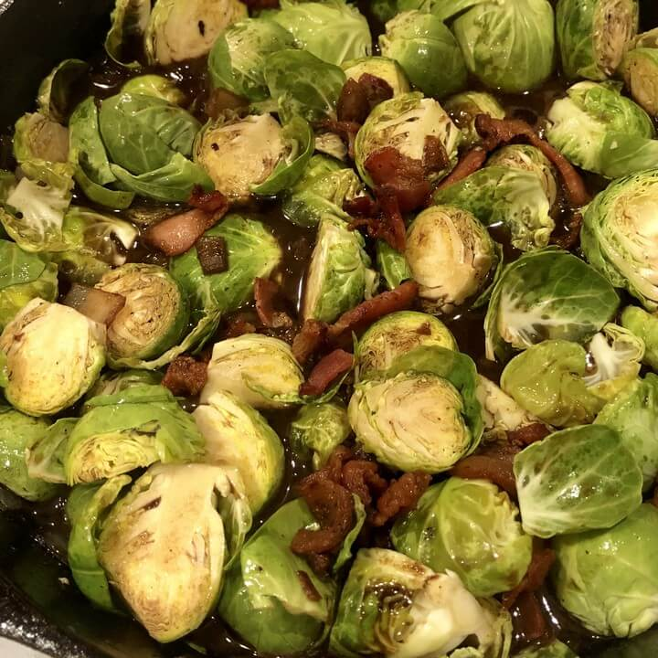 Bellas Brussels Sprouts with Bacon