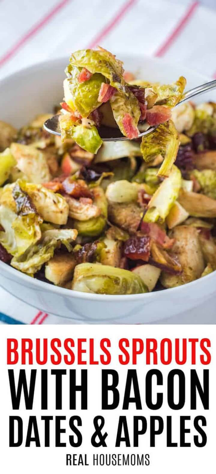 Brussel Sprouts with Bacon Dates and Apples 2