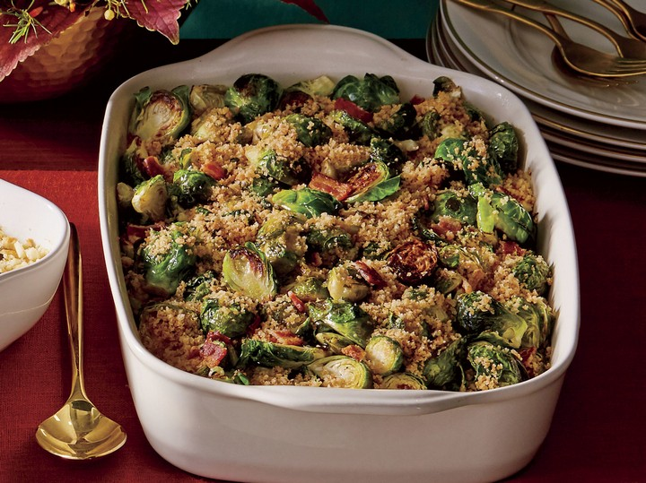 Brussel Sprouts with Bacon and Shallots Recipe