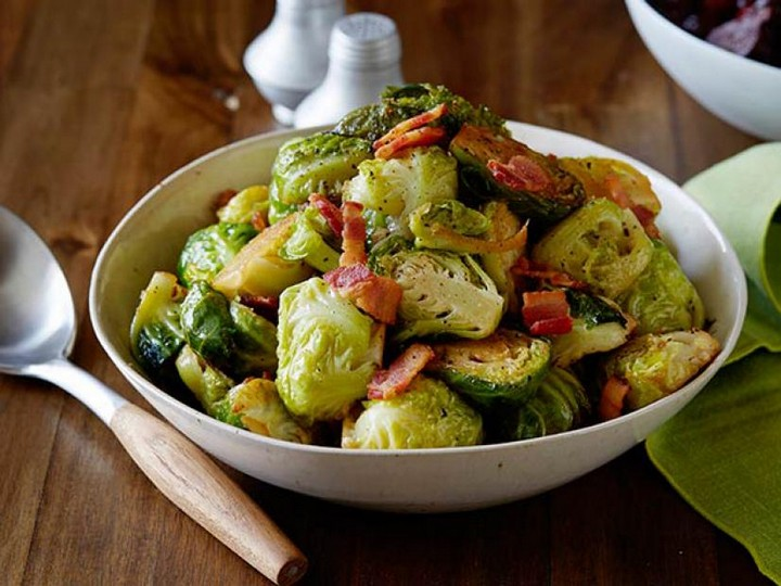 Brussels Sprouts with Bacon 4