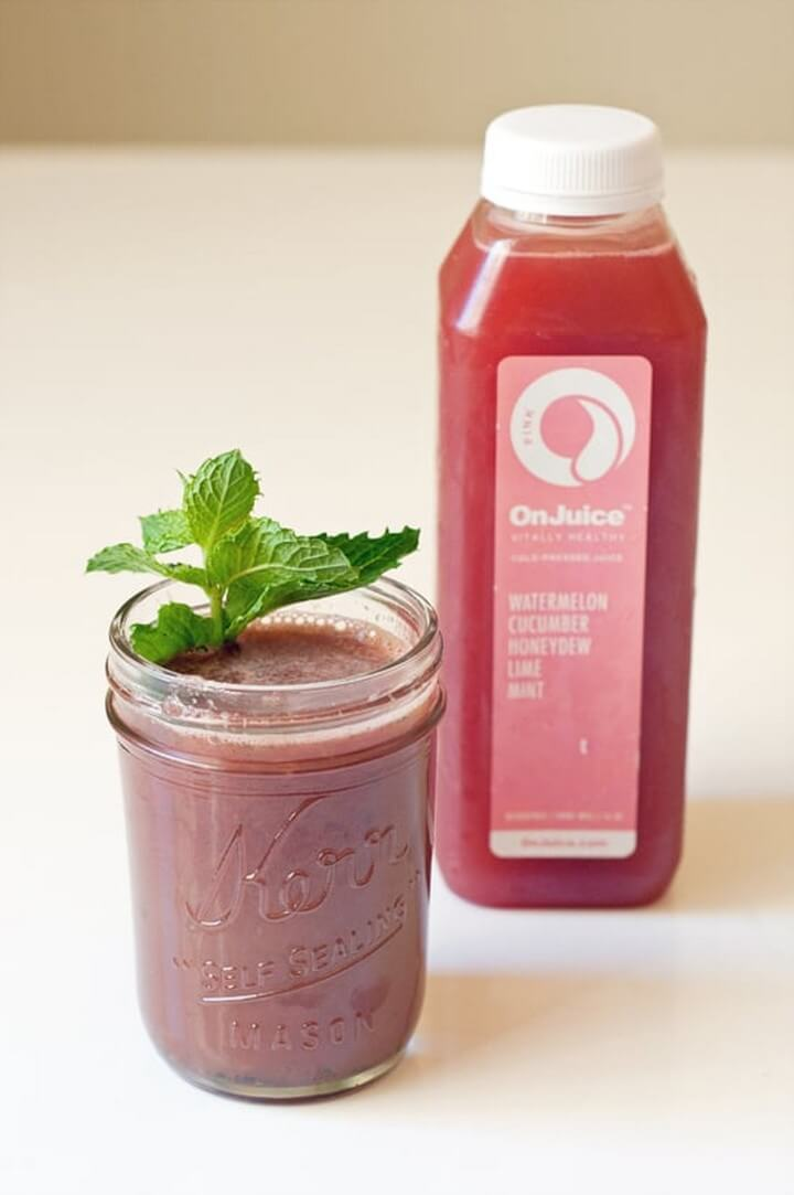 Cold Pressed Watermelon Juice Recipe