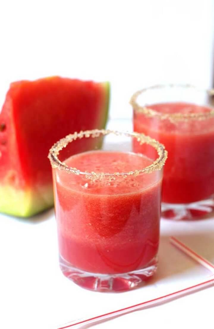 Cool Watermelon Juice Recipe