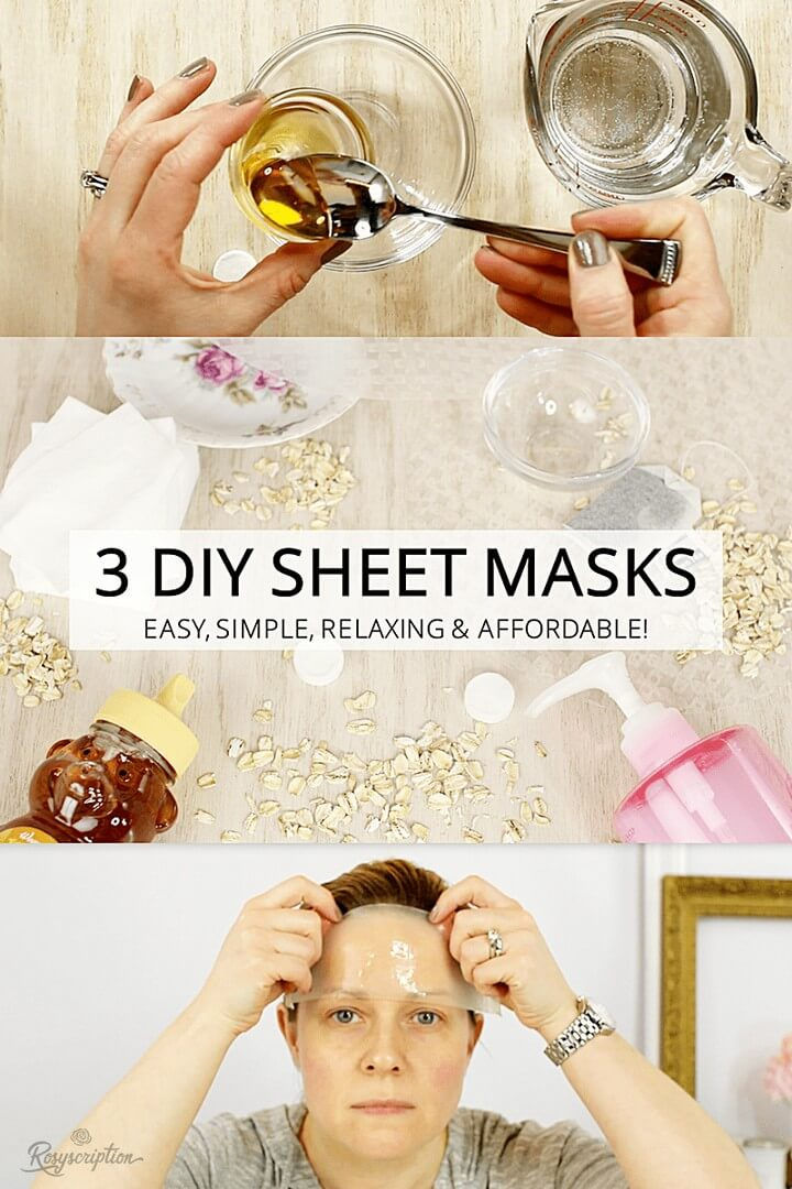 DIY Amazing Sheet Mask