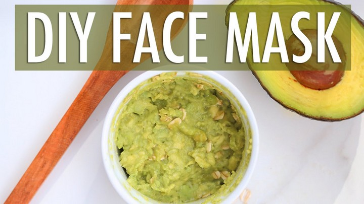 DIY Avocado Face Mask for Clear Skin
