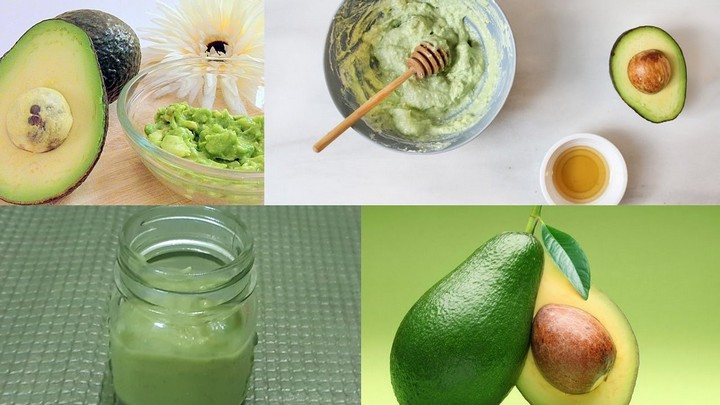 DIY Face Mask Avocado Anti Aging Face Mask