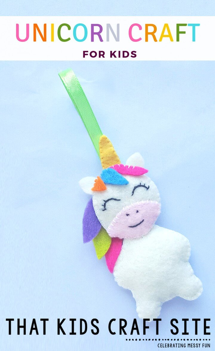 DIY Felt Unicorn Craft