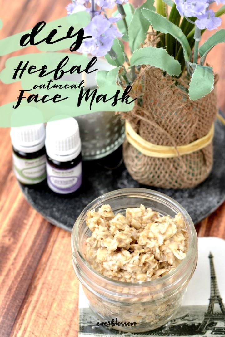 DIY Herbal Oatmeal Face Mask