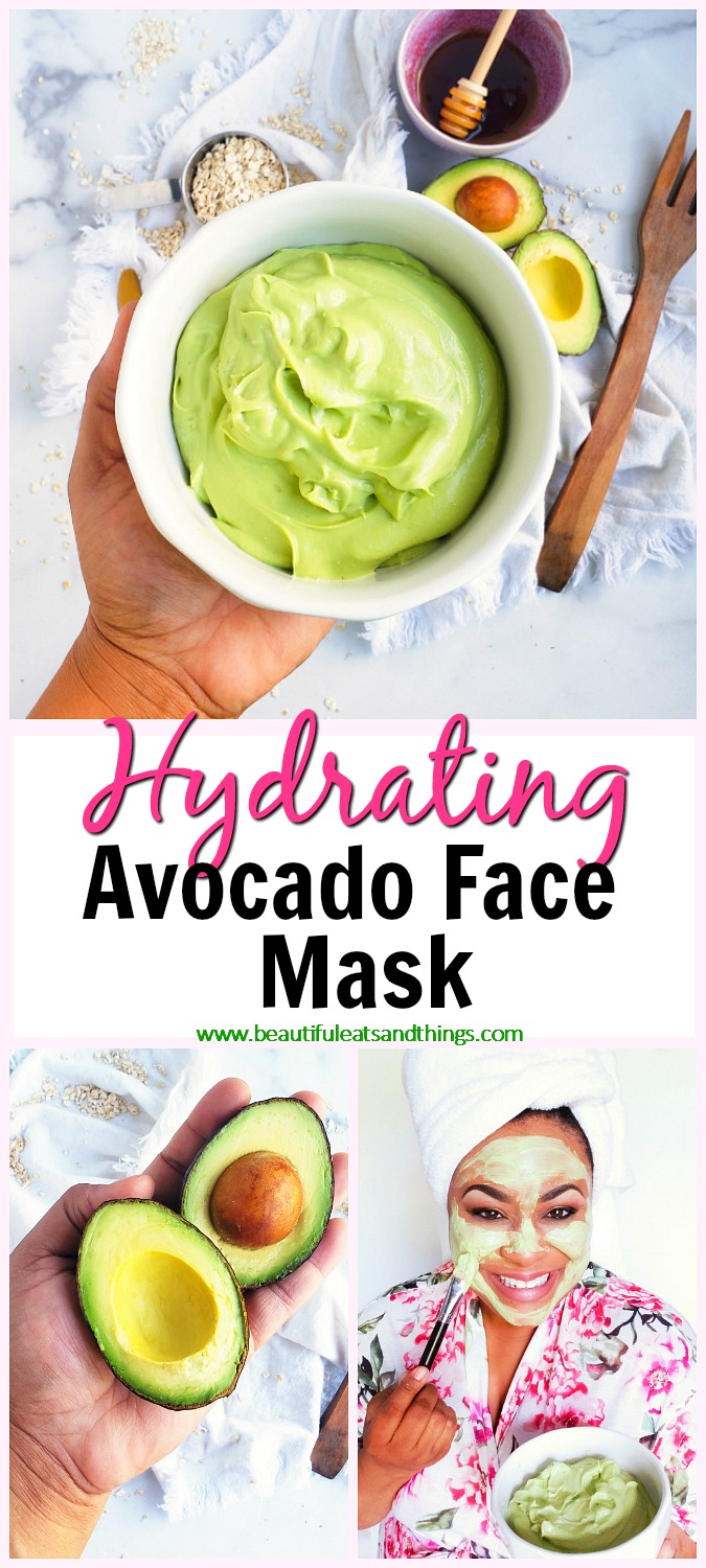 DIY Hydrating Avocado Face Mask 1