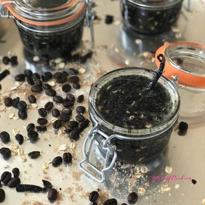 DIY Natural Exfoliating Body Scrub Recipe