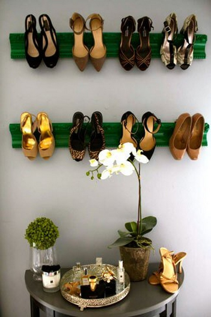 DIY Shoe Display