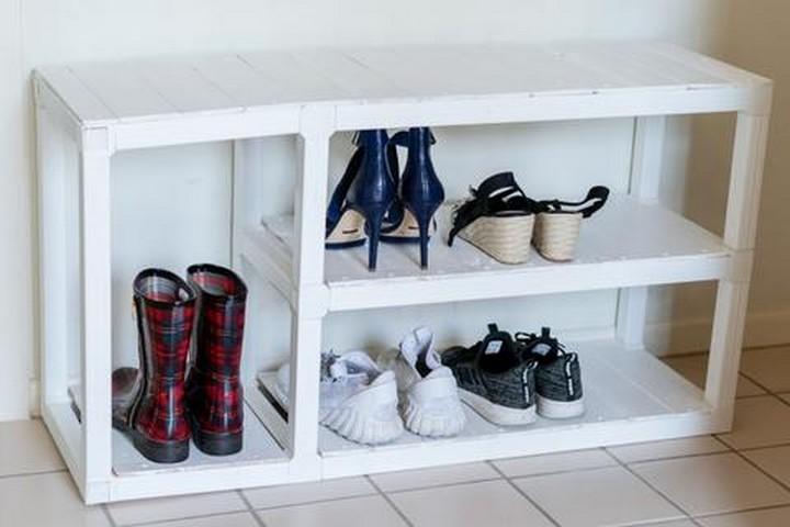DIY Shoe Rack or Bench