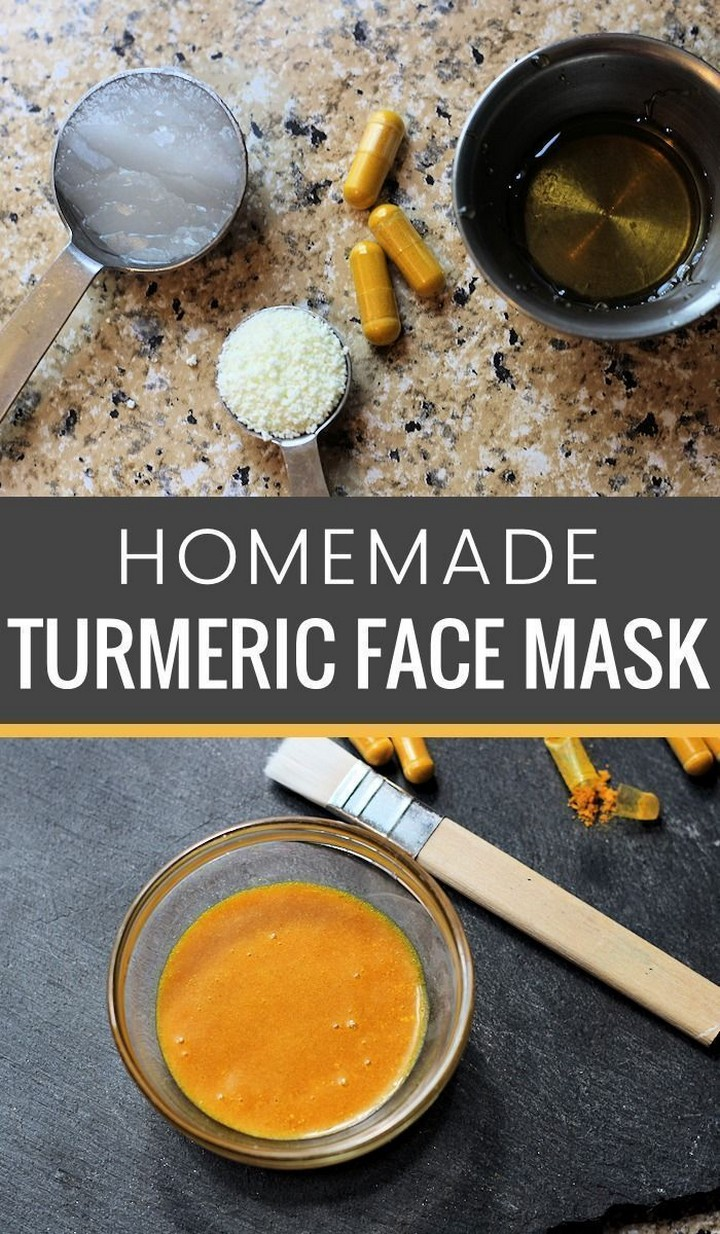 DIY Turmeric Face Mask
