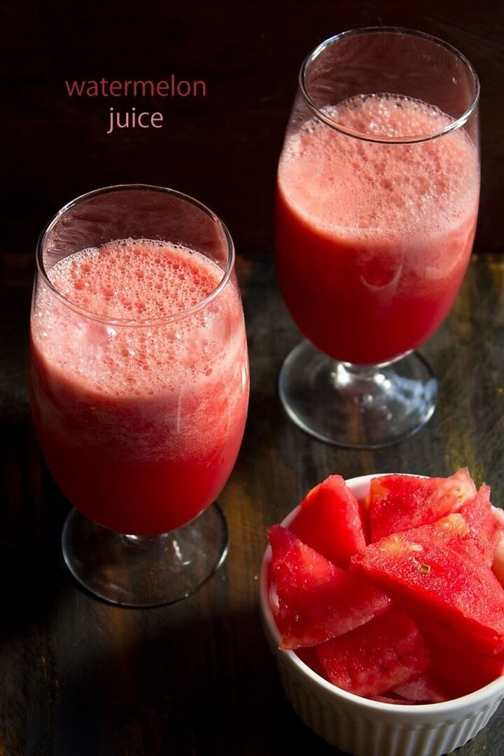 DIY Watermlon Juice