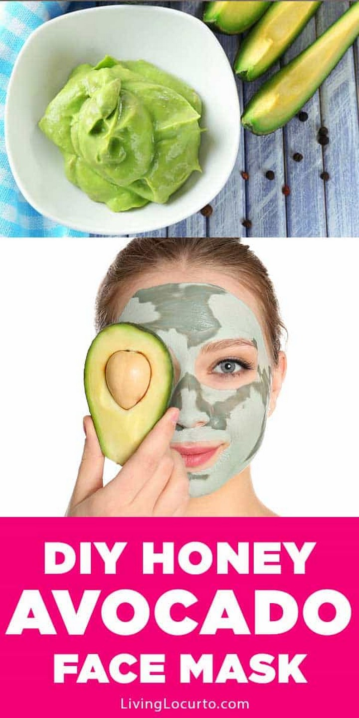 Easy Honey Avocado Face Mask Recipe
