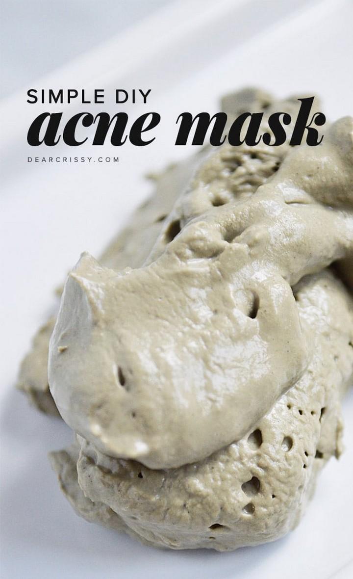 Homemade Acne And Pores Mask