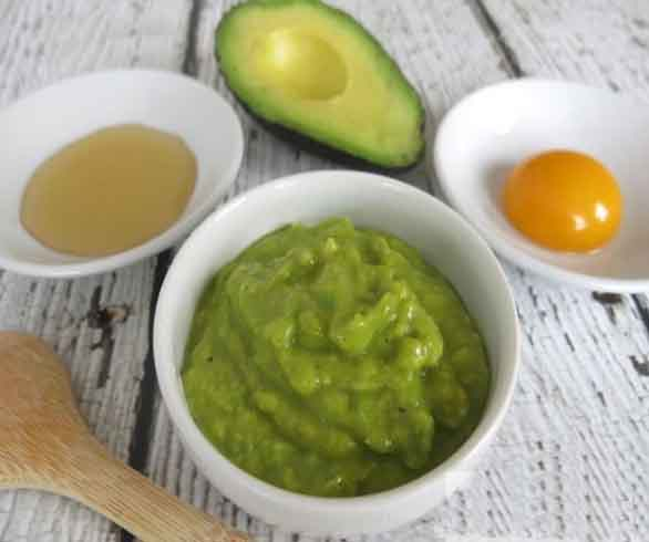 Homemade Avocado Face Mask 1