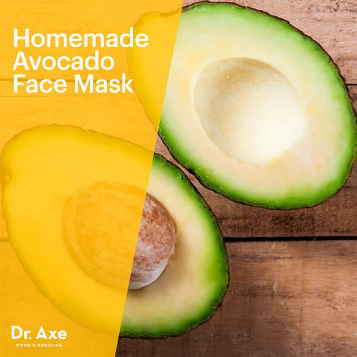Homemade Avocado Face Mask