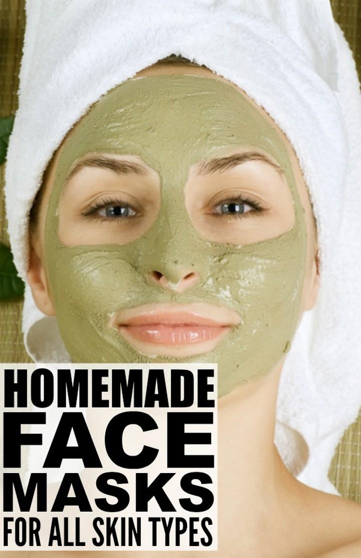 Homemade Face Masks for all Skin Types