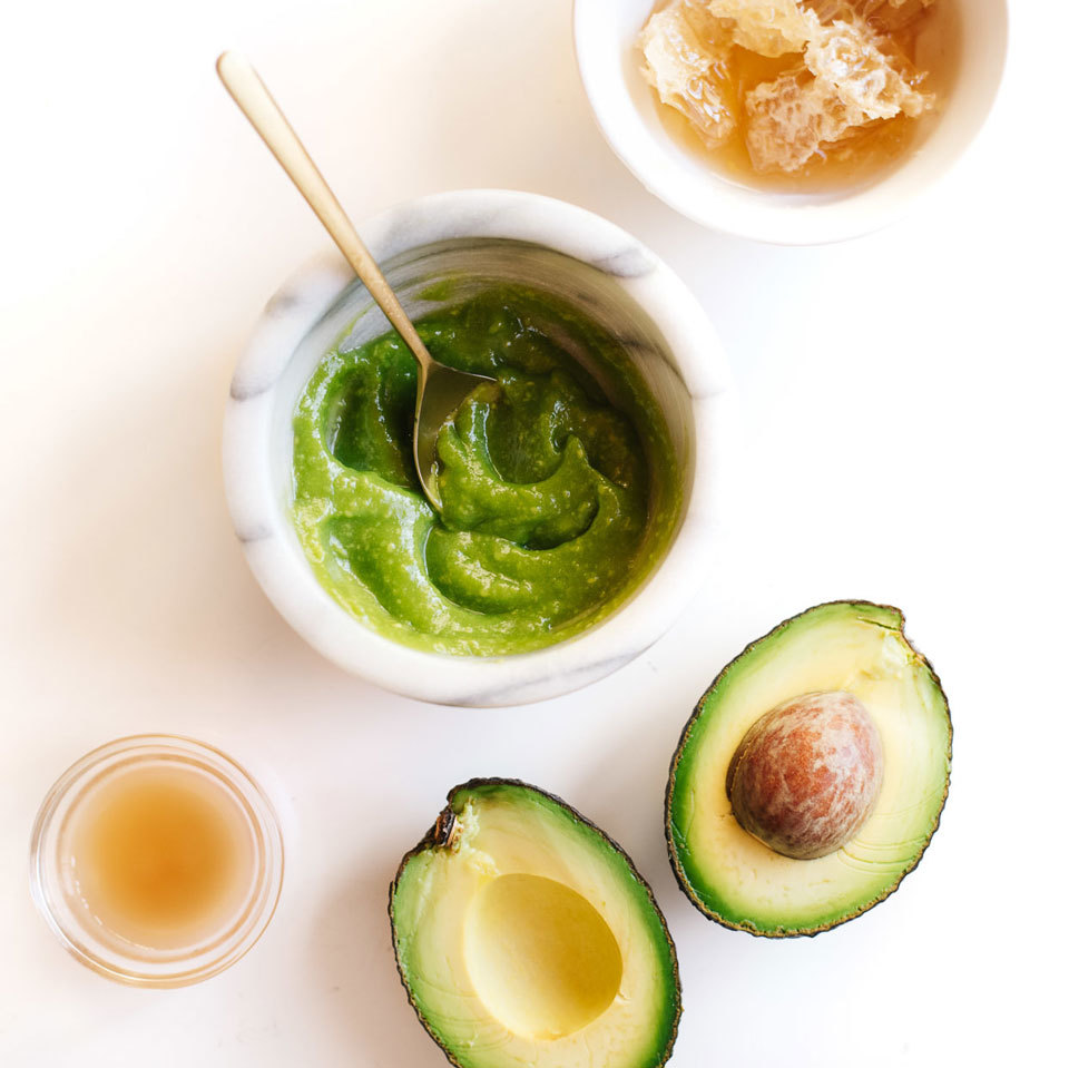Honey Avocado Face Mask