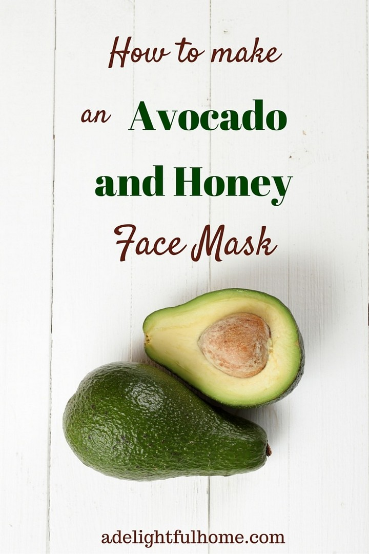 How to Make an Avocado and Honey Facial Mask